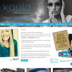 Website and Branding for kaylamakesmeover.com