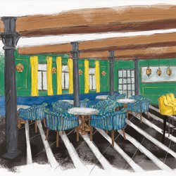 Interior/Exterior Illustrations