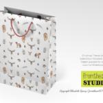 Woodlands Animal gift_bag_Christmas